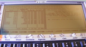 Volkov Commander (XTM running on Psion 5mx)