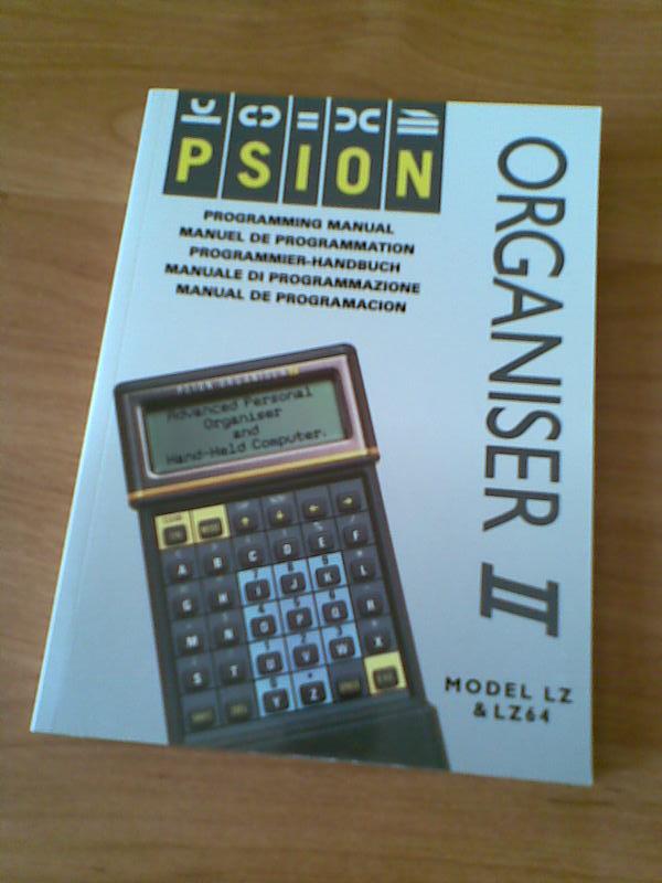 Psion Organiser « Vintage Palmtops