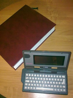 Atari Portfolio As An E Book Reader